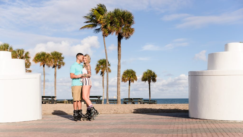 Fun-Lifestyle-Beach-Engagement-Photos-At-Lauderdale-By-The-Sea-Ashley-and-Erik-Photography